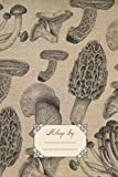 MIleage Log: At-a-glance auto mileage log record book. Wild mushroom & woods illustrations. Perfect gift for plants, foraging & nature lovers.