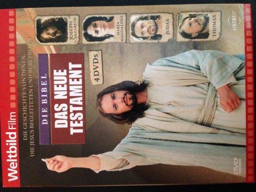 Die Bibel - Das Neue Testament: 1. Joseph von Nazareth - 2. Maria Magdalena - 3. Judas - 4. Thomas