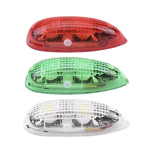 Jaimenalin Luces de NavegacióN de Aviones RC Flash LED Luz InaláMbrica para VehíCulo AéReo No Tripulado RC ala Fija AvióN AvióN Equilibrio EléCtrico Coche y Bicicleta Al Aire Libre