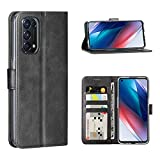 Cresee for Oppo Find X3 Lite 5G Case, PU Leather Wallet