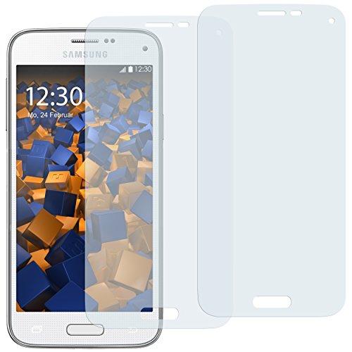 mumbi Schutzfolie kompatibel mit Samsung Galaxy S5 Mini Folie klar, Bildschirmschutzfolie (2X)