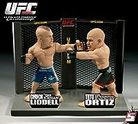 UFC Ultimate Collector フィギュア チャック・リデル VS ティト・オーティズ
