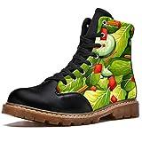 LoRVIES - Botas de invierno para hombre, color verde, (multicolor), 41 EU
