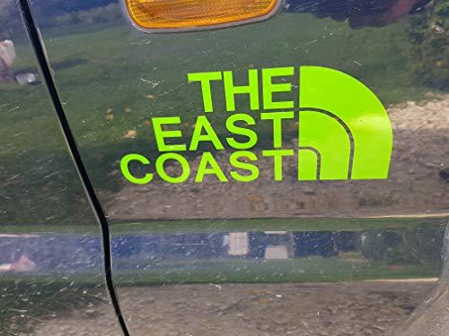 Terra Nomade The East Coast Lima calcomanía para Coche JDM Dub Euro Race Drift Funny Surf
