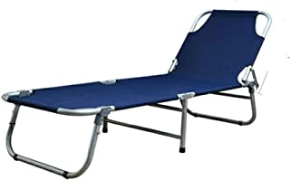 Outdoor Folding Bed Portable Office Chair Single Cot Rest Sleeping Max Load 200kg Camping Travel,183 * 63cm