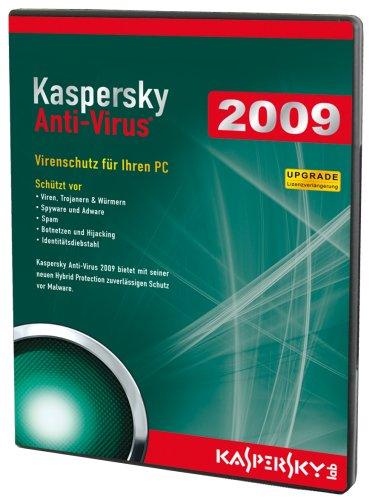 Kaspersky Anti Virus 2009 (Upgrade/DVD-Box) [import allemand]