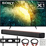 Sony KD55X750H 55' X750H 4K Ultra HD LED TV (2020) with Deco Gear Soundbar Bundle