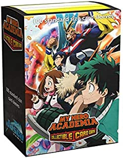 Dragon Shield Sleeves - Matte Art My Hero Academia Plus Ultra Fight 100 CT – MGT Card Sleeves are Smooth & Tough – Compati...