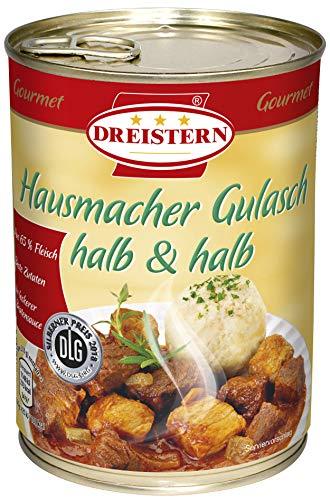 DREISTERN Hausmacher Gulasch halb & halb, 540 gramm