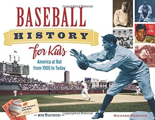 Baseball History for Kids America at Bat from 1900 to Today with 19 Activities For Kids series product image