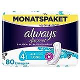 Always Discreet Inkontinenz-Einlagen+ Long Spar-Paket bei Blasenschwäche