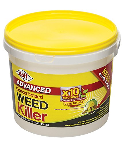 Doff Advanced Concentrated Weedkiller 10 x 80ml sachets