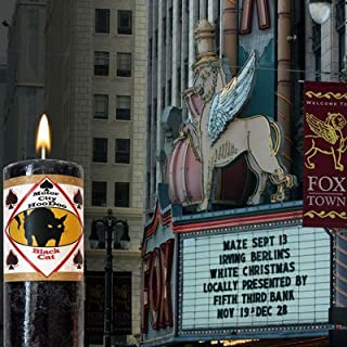 Motor City Hoo Doo Black Cat Candle