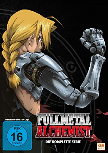 Fullmetal Alchemist - Die komplette Serie [10 DVDs]