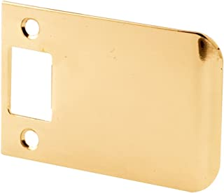 Defender Security E 2345 Extended Lip Strike, 3-Inch, Solid Brass Construction, Pack of 1