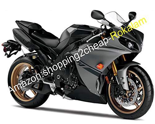 gris noir corps Kit YZF1000 pour YZF-R1 12 13 14 YZF 1000 2012 2013 2014 YZFR1 YZF R1 moto Derbi Set (à injection)