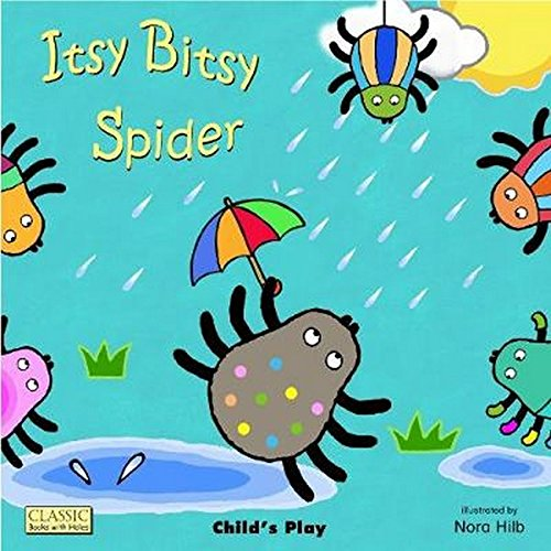 Itsy Bitsy Spider (Classic Books with Holes Board Book)