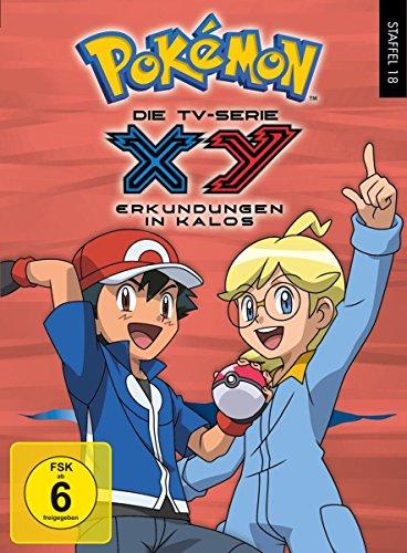 Pokémon Staffel 18: XY - Erkundungen in Kalos [6 DVDs]