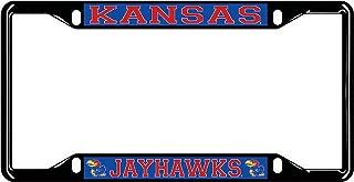 jayhawk license plate frame
