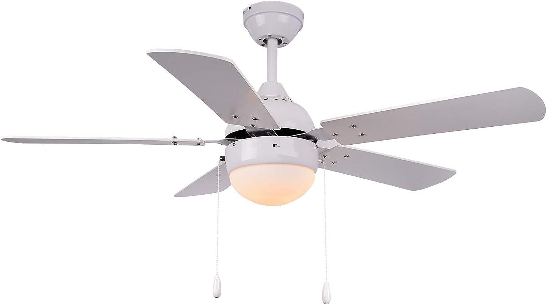 TODOLAMPARA Ventilateur de Plafond modèle pontia Blanc
