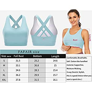 High Impact Strappy Criss Cross Sports Bras for Women with Removable Cups Siberia XXL