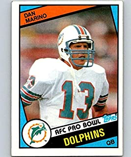 1984 Topps #123 Dan Marino NM-MT Football NFL RC Rookie Dolphins 04724