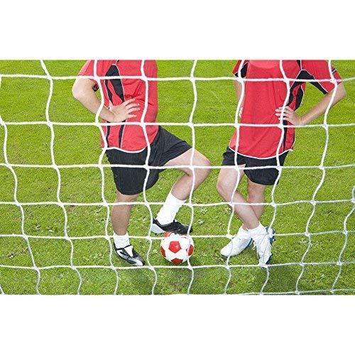 Ersatznetz Alu-Minitor - Ersatznetz Fussballtor 4 Größen Fußballnetze, Sportersatz, Fußballtor Post Netz für Sport Match Training Weiß