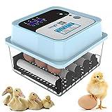 DLMYZ Incubatrice Automatica, Incubatrice Intelligente per 6/9/12 Uova, Incubatrice per Tacchini, Polli, Uccelli E Altre Uova,12 Eggs