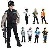 Viste a América - 830 - Establecer Las Fuerzas Especiales SWAT - Edad 3-6 años - One Size - Niños 3-6 años - Multicolor