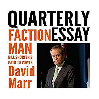Quarterly Essay 59: Faction Man cover art