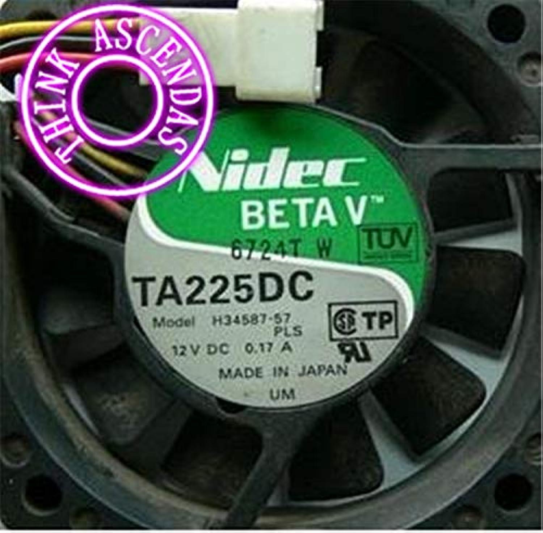 Original New Cooler AD0848HBA71GL DC BRUSHLESS   ASF806D1002A   H3458757 TA225DC  (color  AD0848HBA71GL)
