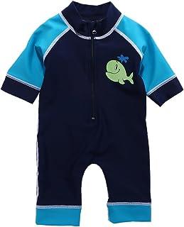 Vivafun Baby Boy Rash Guard Swimsuit UPF 40+ Sun Protective Sunsuit