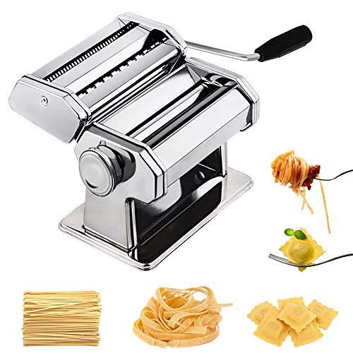KangHan Roestvrij staal zelfgemaakte pasta machine voor lasagne noedels verse spaghetti macaroni lasagne deeg roll cutter