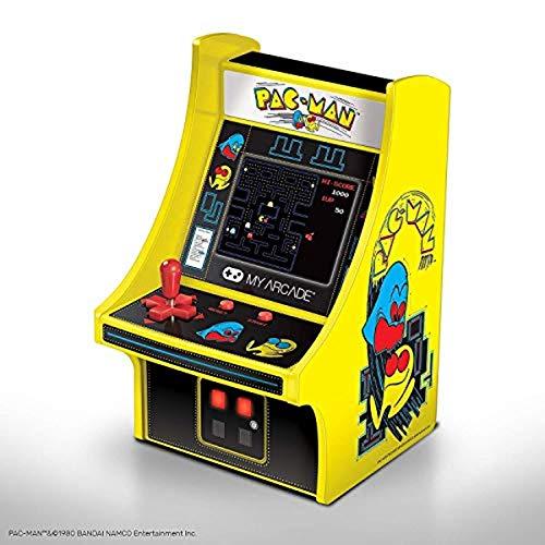My Arcade DGUNL-3220 Pac-Man Micro Player Retro Arcade Machine -6 Inch Cabinet