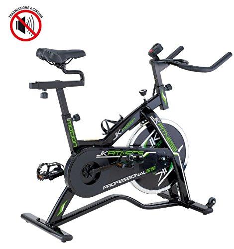 JK FITNESS JK515 Indoor Cycle, Nero