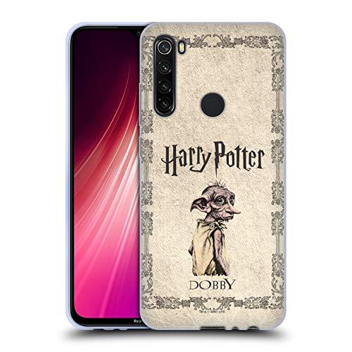 Head Case Designs Ufficiale Harry Potter Creatura Dobby House Elf Chamber of Secrets II Cover in Morbido Gel Compatibile con Xiaomi Redmi Note 8T