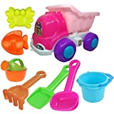 Rk Toys Beach Toys Deluxe Playset for Kids 8 Pcs - Big Dump
