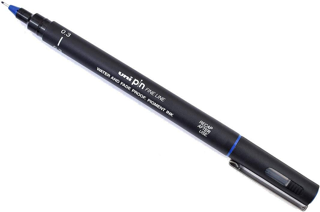 Uni Pin PIN03-200 S 0.3mm Fine Free shipping Pack of Max 70% OFF Pens Liner 12 Drawing