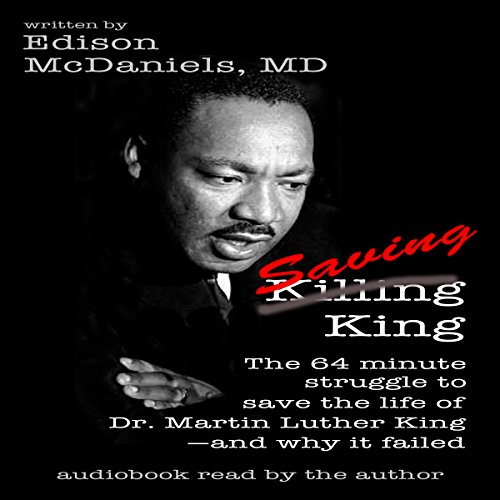 Saving King audiobook cover art