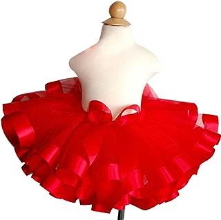 Girls Tutu Skirt Fluffy Tulle Princess Ballet Dance Pettiskirts 3-9T