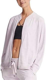 DKNY Sport Womens Sweatshirt Fitness Athletic Jacket Med Pink XL