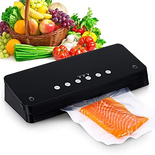 M PLUS Food Sealer, Vacuum Sealer Machine Use for Meat Fish Fruits Vegetables Nuts Bread etc