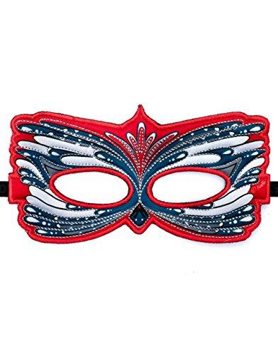 Dreamy Dress-Ups 67077 masker, stofmasker, houtpecker, vogel specht picidae