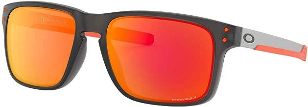 OAKLEY Holbrook Mix Ember Matte Gray Smoke Sunglasses