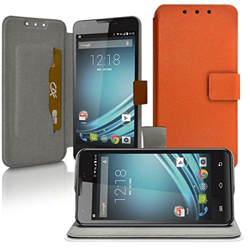 Seluxion-Funda universal para Nokia Lumia 735 M, color naranja