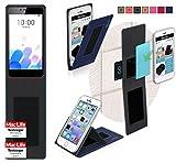 Hülle für Meizu M5c Tasche Cover Case Bumper | Blau |