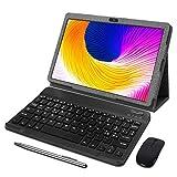 Tablet 10 Pulgadas AOYODKG, 3GB de RAM y 32 GB de Memoria 4G LTE Tableta Android 10 Certificado por Google GMS Dobles SIM y TF, GPS WiFi Soporte (Gris)