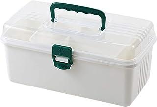 GLJJQMY Pill Box Medicine Storage Box PP Household Medicine Box 26x12.5x13.5cm Medicine Storage Box (Color : White)