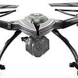 KiiToys Drone with Camera Quadcopter RC Drones Helicopter - Beautiful HD Cam, Air Pressure Sensor Altitude Lock, Easy Control Headless Mode, Return Home Key, 6 Axis Gyroscope