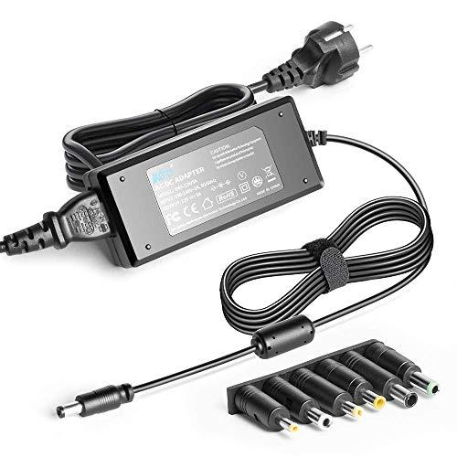 KFD Universal Netzteil 12V 5A 60W Netzadapter Schaltnetzteil Ladegerät für LED-Strip, LCD TFT Bildschirme, Monitore Fernseher, Freebox V5, Bitcoin Miner, Luftreiniger mit 6 Adaptersteckern